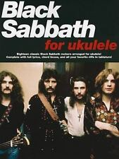 Black Sabbath Ukulele Sheet Music ~ Uke TAB ~  Heaven & Hell, Paranoid, More!