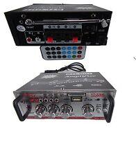 amplificatore auto casa caccia 4 in 2 out equalizzato alta potenza stereo hi fi