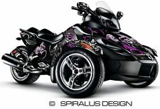 Can Am Spyder RS RSS GS graphic wrap decal kit The Perennial