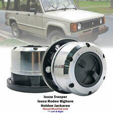 2x 24 Spline Manual Wheeling Locking Hubs For Isuzu Rodeo Bighorn Trooper 81-86