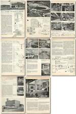 1957 Metal Agencies Factory And Offices At Bristol Design, Plans