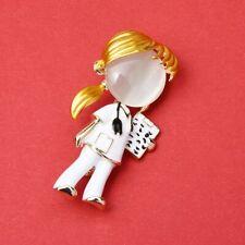 Opal Enamel Doctor Nurse Brooches Women Hospital Office Brooch Pins Gifts