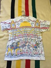 Unique Vintage Graphic Carnival Tshirt - XXL/XL - MADE IN USA
