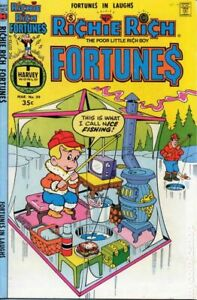 Richie Rich Fortunes #39 VG/FN 5.0 1978 Stock Image Low Grade