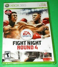 Fight Night Round 4 Microsoft Xbox 360 *New! *Factory Sealed! *Free Shipping!