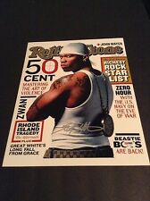 50 CENT Signed autograph 11X14 photo PSADNA Rolling Stone