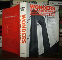 Gies, Joseph WONDERS OF THE MODERN WORLD  1st Edition 2nd Printing