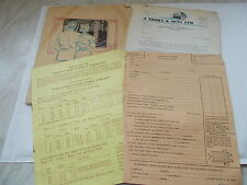J.Thorn & Sons Ltd, Caerphilly  Catalogue / Price List / Order Form /Letter 1959