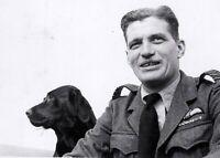 Wing Commander Ace Johnnie Johnson & Sally RAF WW2 WWII 5x7
