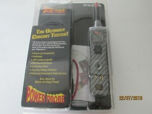 Power Probe 3(III)12-24V Diagnostic Automotive Tester In Carbon design PP3CSCARB