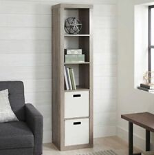 Better Homes and Gardens 5-Cube Organizer, Rustic Gray