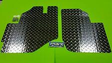 Kawasaki Teryx 2008 thru 2013   Diamond Plate Aluminum Floor board kit.