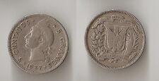 Dominican Republic 5 centavos 1937
