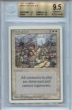 MTG Unlimited Wrath of God BGS 9.5 Gem Mint Card Magic The Gathering