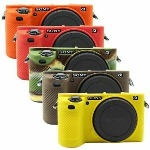 Soft Silicone Protective Case Cover Skin for Sony ILCE-6500 A6500