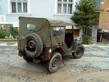 Willy's Jeep M38 A1, Verdeck, Sommerverdeck mit Seitenteilen aus U.S. canvas!