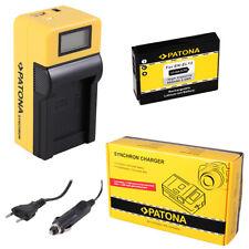 Batteria Patona + caricabatteria Synchron LCD USB per Nikon Coolpix P310,P330