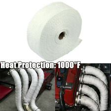 "2"" X 50ft Universal Car Motorcycle Lava Header Manifold Exhaust Heat Wrap Tape"