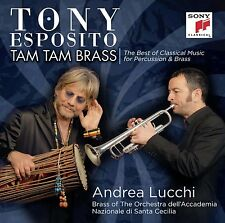 Tony Esposito - Tam Tam Brass  / CD / NEU & OVP-SEALED!