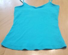 Guess Jeans, Stretch, women's sleeveless Shelf Bra tank top, size Large (A1)
