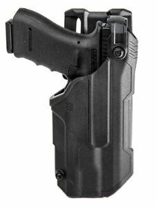 Blackhawk T-Series Holster L3D LB Glock 17/22 w/ TLR 7 (LH) - 44N700BKL