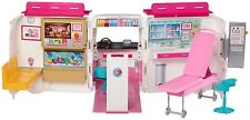 Barbie Careers Care Medical Care Clinic Ambulance Vehicle Playset