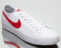 Nike SB Blazer Court Men's White Red Low Athletic Casual Skate Sneakers Shoes