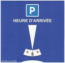 Disque de stationnement Zone Bleue / Disque Horaire - MARQUE ALTUIM - NEUF