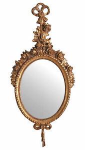Antik Spiegel Barock Wandspiegel Gold Hängespiegel Prunkspiegel Rokoko Wanddeko