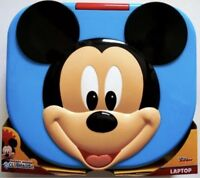 NEW FAST FREE SHIPPING Disney Mickey Mouse Play and Learn Laptop Gift For Kids