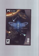 NEXUS : THE JUPITER INCIDENT - SPACE STRATEGY PC GAME - ORIGINAL & COMPLETE