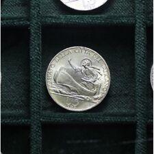 5 Lire Arg 1939 An.I - Vaticano (Pio XII) LOT1235