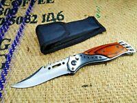 Knife Colunbia NEW Folding Pocket Military Case