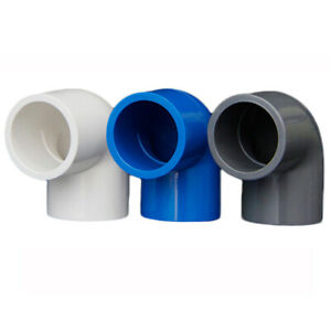 PVC 16mm-200mm ID Equal Water Supply Pipe Elbow Fittings Adapter Connector