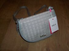 NEW KIPLING DIELLA Checked Cross Body / Shoulder Bag - Grey