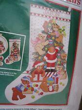 Dimensions Christmas Crewel Stitchery Stocking Kit,BEARY MERRY BEARS,Gillum,8061
