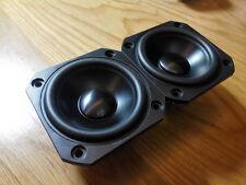 pair( 2 pcs) peerless P830986 HIEND 3inch fullrange speaker