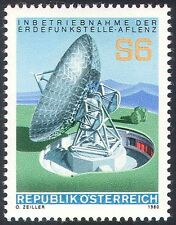 Austria 1980 Aflenz Satellite Station/Radio Dish/Communications 1v (n42560)