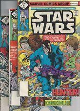 Star Wars #16,17,18 (1977 Marvel) Whitman 3-Pack Whitman Diamond Variants VG-