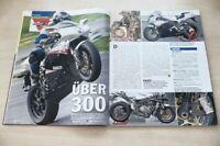PS Sport Motorrad 3082) MV Agusta F4 R 312 mit 183PS in einer ersten Vorstellu