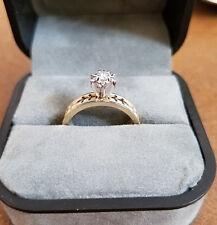 14k yellow gold .09 ct diamond ring Lot A