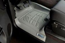 Front Sure-Fit Floor Mats: 2011-2012 Ford Super Duty Standard/Super Cab