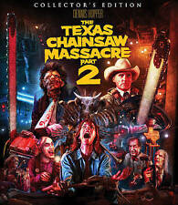 The Texas Chainsaw Massacre 2 (Blu-ray Disc, 2016, 2-Disc Set, Collectors...