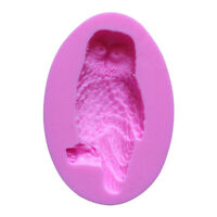 Owl Cake Mold Fondant Mould Cake Decorating Pastry Mold Muffin Baking Tray