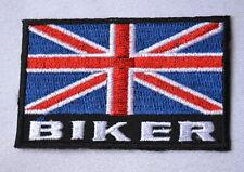 British Biker Patch England Aufnäher Aufbügler Kutte
