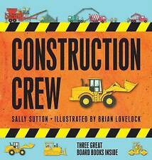 Construction Crew By Sally Sutton - Slipcase
