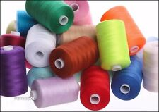 50 X 1000 yards POLYESTER THREAD - MIXED/ASSORTED SEWING THREADS
