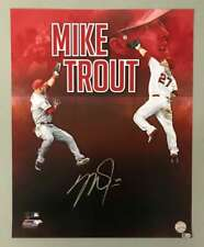 Mike Trout Signed Autographed 16x20 Photograph MLB