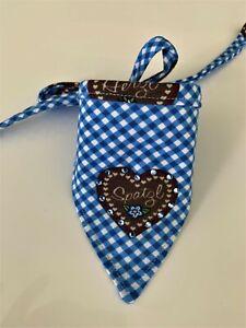 Spatzl 25-60cm Umf. Hundetuch Hundehalstuch Halstuch DreieckstuchTracht Halsband
