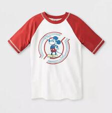 Junk Food Boys Disney Mickey Mouse Rash Guard Swim Shirt - Size X-Small